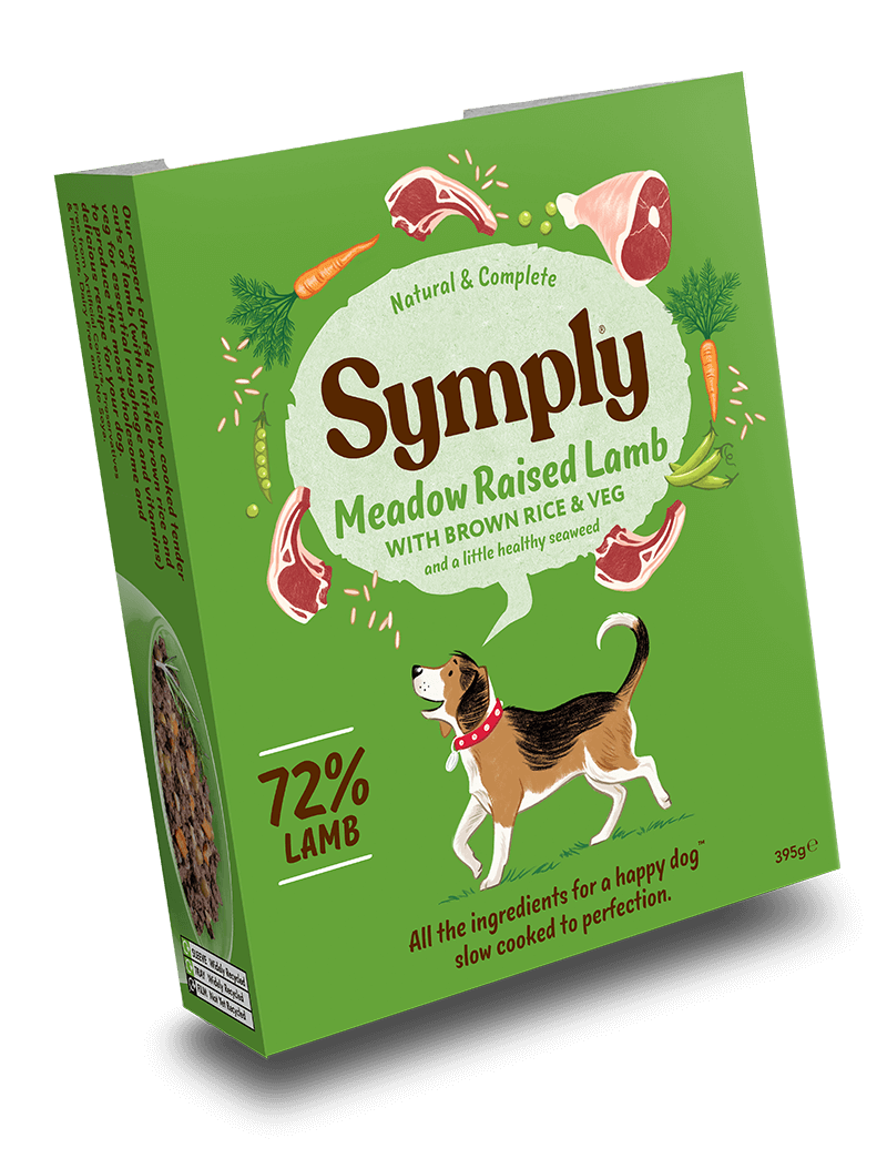 Symply Wet Food Meadow Raised Lamb Dog Food - Wet Symply