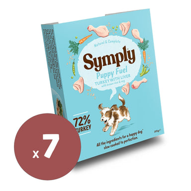 Symply Wet Food Puppy Fuel 395gx7 Dog Food - Wet Symply