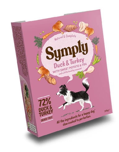 Symply Wet Food Turkey Bake Dog Food - Wet Symply