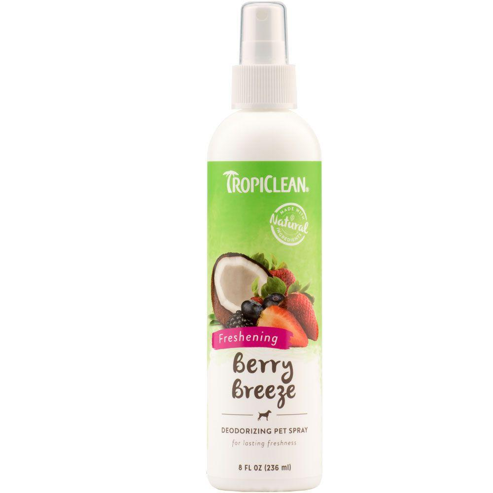Tropiclean Berry Breeze Deodorizing Spray Dog Grooming Tropiclean