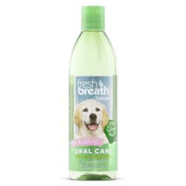Tropiclean Fresh Breath Water Additive for Puppies 473ml Dog Accessories Tropiclean