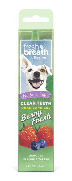 Tropiclean Oral Care Gel Berry Fresh Dog Accessories Tropiclean
