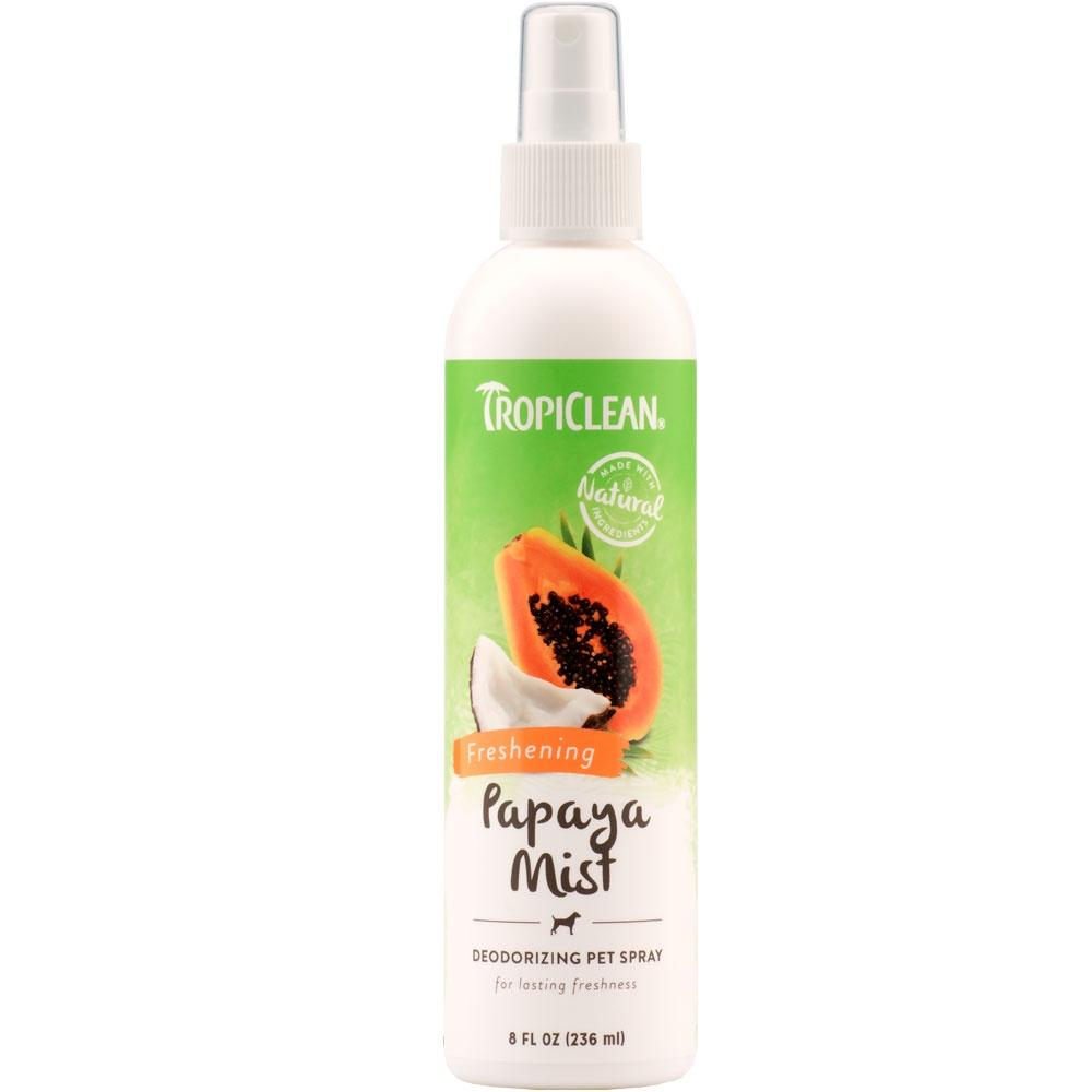 Tropiclean Papaya Mist Deodorizing Spray Dog Grooming Tropiclean