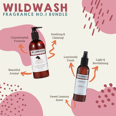WildWash Fragrance No.1 Bundle Bundles Boxes & Gifts Wildwash