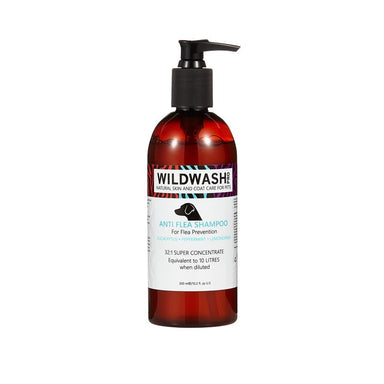 Wildwash Shampoo Anti-Flea Shampoo Dog Grooming Wildwash