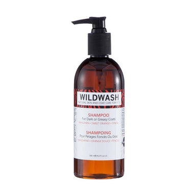 Wildwash Shampoo For Dark Greasy Coats Dog Grooming Wildwash