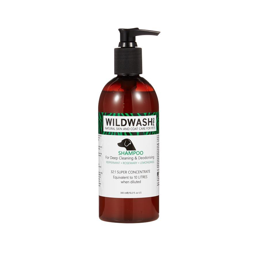 Wildwash Shampoo For Deep Cleaning & Deodorising Dog Grooming Wildwash