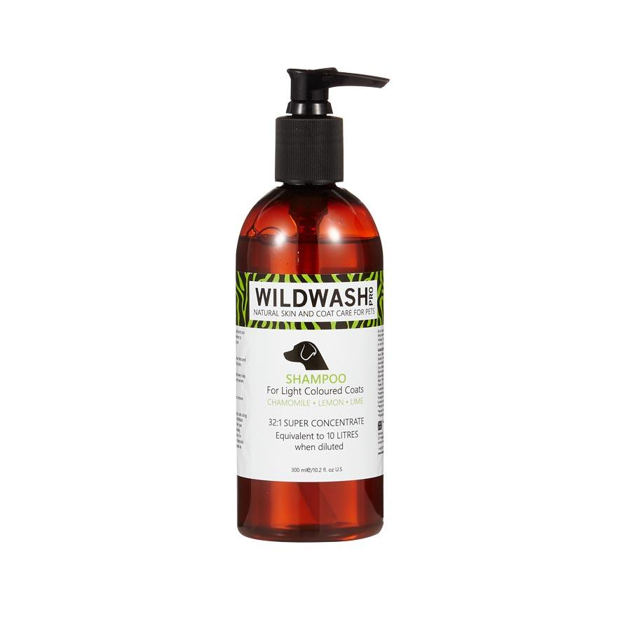 Wildwash Shampoo For Light Coloured Coats Dog Grooming Wildwash