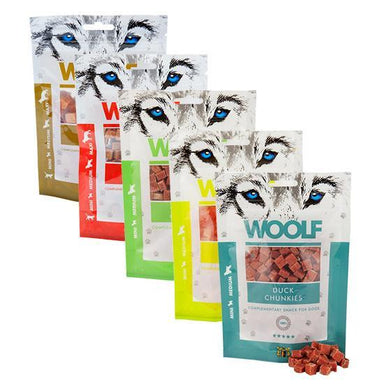 Woolf Chunkies Training Treats Bundle Dog Treats Woolf