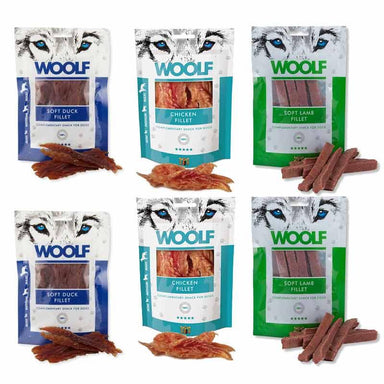 Woolf Meaty Fillet Treat Bundle Dog Treats Woolf