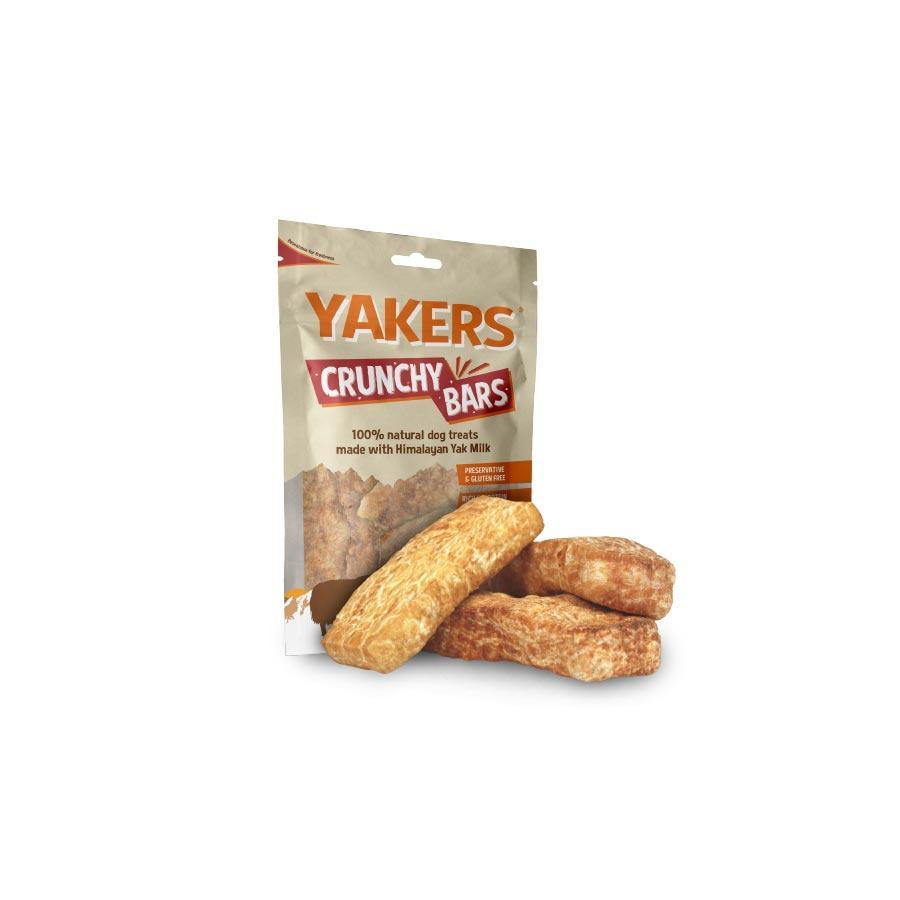Yakers Crunchy Bars Dog Treats Yakers