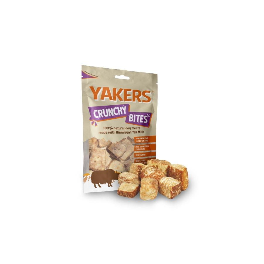 Yakers Crunchy Bites Dog Treats Yakers