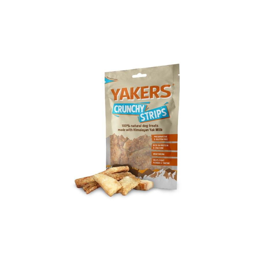 Yakers Crunchy Strips Dog Treats Yakers