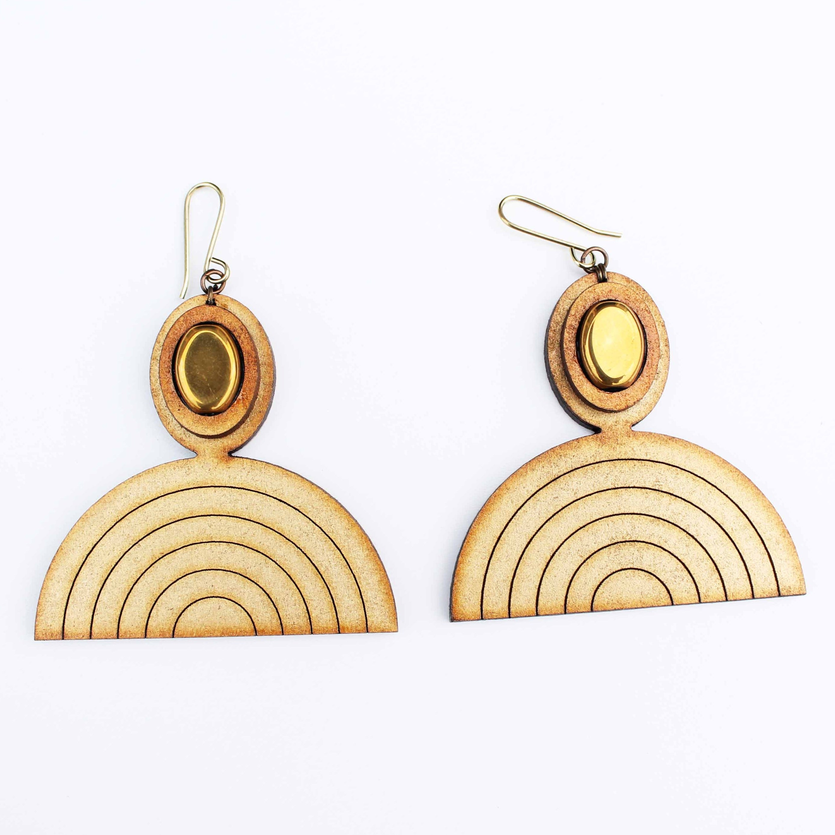 Cleopatra crescent Earrings
