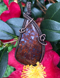 Stunning Cathedral Agate in Copper
