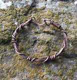 Copper Strands Bracelet - 7""