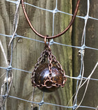 Bronzite Sphere Necklace