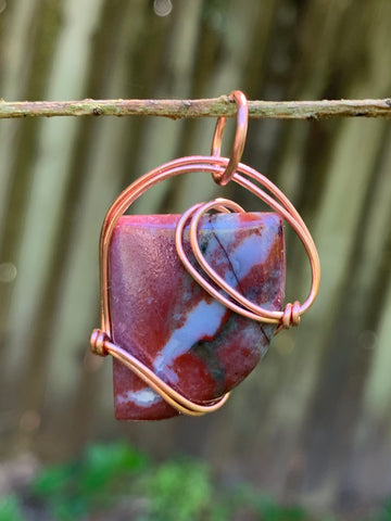 Sleek Fancy Jasper in Copper