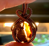 Polished Agate in Copper