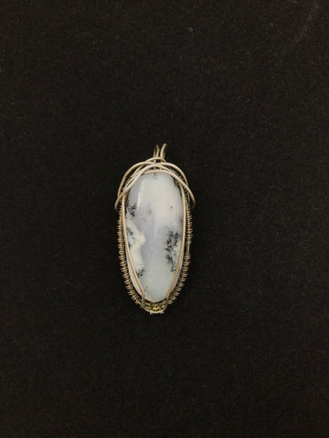 Dendritric Agate in Sterling Silver
