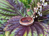 Copper and Sterling Ring - Size 10