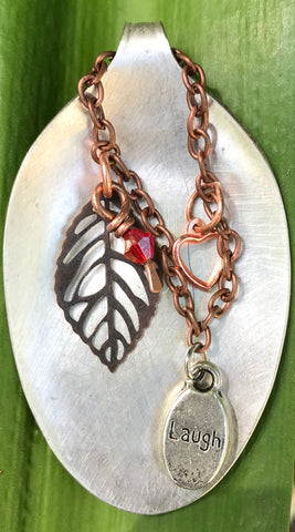 Silver Plated Spoon Pendant