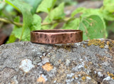 Hammered Copper Ring - Size 11