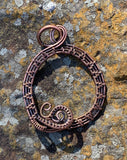 Copper Charm Pendant