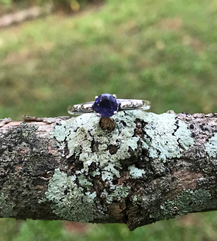 Iolite in Sterling Silver - Size 8