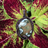 Rainforest Jasper in Copper