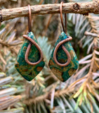 Ghost Eye Jasper Earrings