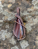 Tumbled Jasper in Copper Pendant