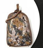 Bold Flowering Jasper in Copper