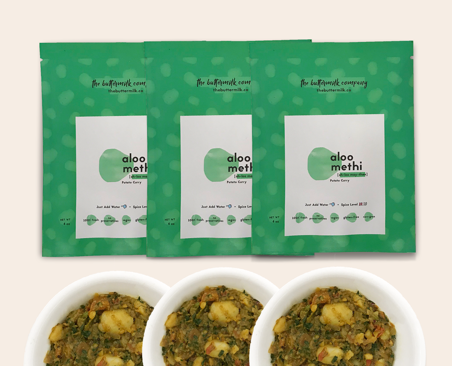 Aloo Methi (3 pack)