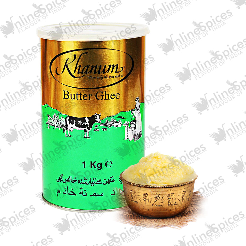 GHEE BUTTER PURE TINS