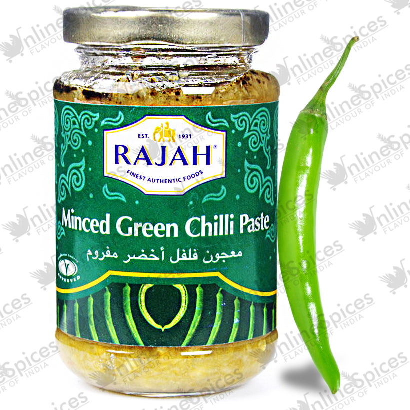 GREEN CHILLI MINCED 210g