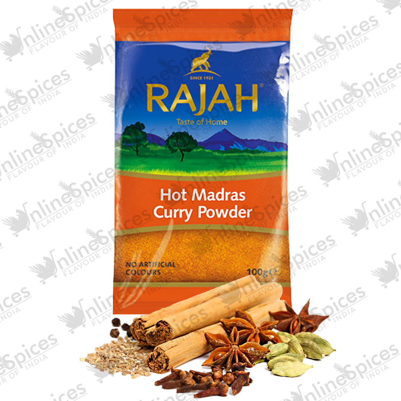 MADRAS CURRY HOT PACKETS