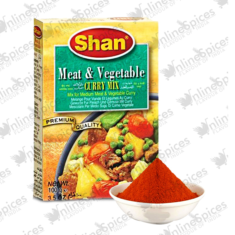 MEAT & VEGETABLE CURRY MASALA 100g