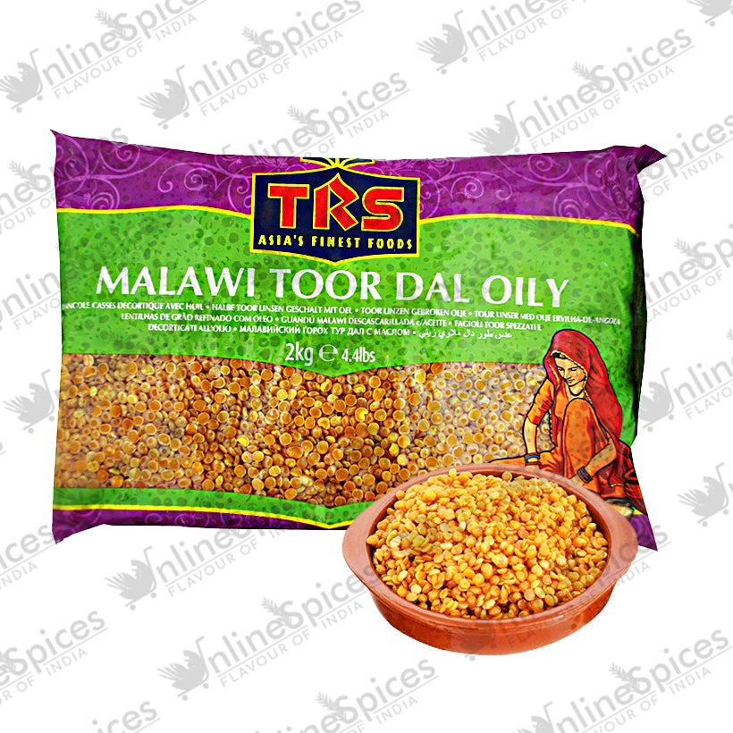 TOOR DAL OILY MALAWI (PIGEON PEAS) - onlinespices.fr