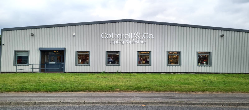 Cotterell and Co lighting store Newcastle Upon Tyne