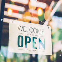 Our shops are open