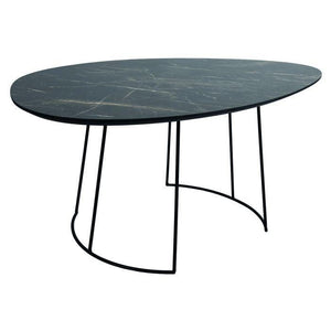 Agoston Coffee Table Dark Marble
