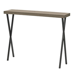 Data Console Table Oak Style Veneer