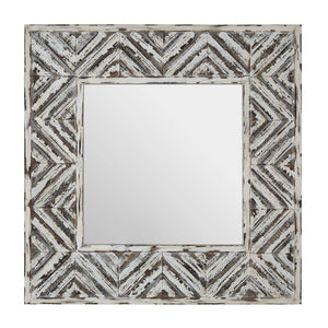 Ashante Wood Frame Wall Mirror