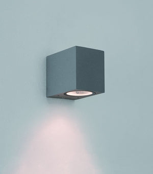 Chios 80 LED Wall Light Textured Grey