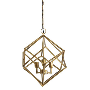Drizella 3 Light Gold Pendant