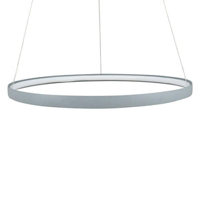 Grey LED Round Pendant