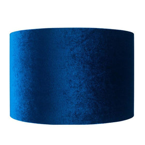 Velvet Cylinder Shade - Various Colours