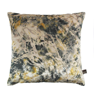 Aristo Green Ochre Cushion 43x43cm