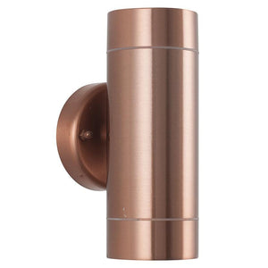 Copper Dual Wall Light